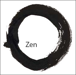 Zen image under Creative Commons Attribution ShareAlike 3.0 License from Wikipedia
